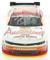 Regan Smith Signed LE #7 Anderson's Maple Syrup 2015 Chevy Camaro 1:24 Scale Die Cast Car (RCCA COA) at PristineAuction.com