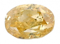 .42ct Natural Yellow Loose Diamond (GIA & GLA Certified) at PristineAuction.com