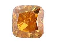 .50ct Natural Orange Loose Diamond (GIA & GLA Certified) at PristineAuction.com