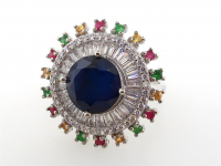 5.92ct Natural Sapphire Ring (GAL Certified) at PristineAuction.com