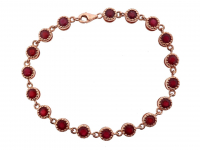 3.70ct Natural Ruby Beacelet (GAL Certified) at PristineAuction.com