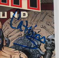 "Mil Muertes & Catrina Signed ""Lucha Underground"" 8x10 Photo Inscribed ""2017"" (JSA COA) at PristineAuction.com"