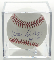 "Willie McCovey Signed OML Baseball With Display Case Inscribed ""HOF 86"" (JSA Hologram) at PristineAuction.com"