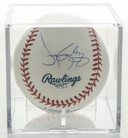 Roger Clemens Signed OML Baseball With Display Case (Beckett COA) at PristineAuction.com