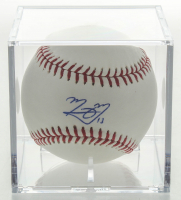 Manny Machado Signed OML Baseball With Display Case (PSA COA) at PristineAuction.com