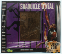 1996 Classic Shaquille O'Neal Factory Sealed 23kt Gold Card at PristineAuction.com