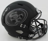 Deebo Samuel Signed 49ers Full-Size Matte Black Speed Helmet (Beckett COA) at PristineAuction.com