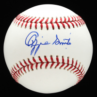 Ozzie Smith Signed OML Baseball With Display Case (PSA COA- Graded 10 & Beckett Hologram) at PristineAuction.com