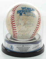 Royals 1985 World Series Baseball Team-Signed by (25) George Brett, Bud Black, Brett Saberhagen, Willie Wilson, Pat Sheridan (BGS Encapsulated) at PristineAuction.com