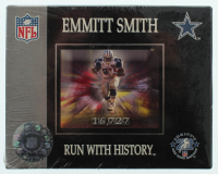 "Emmitt Smith ""Run With History"" Factory Sealed Commemorative Set of (21) Cards at PristineAuction.com"