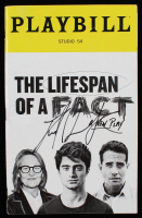 """Daniel Radcliffe Signed """"The Lifespan of a Fact"""" Playbill (JSA Hologram) at PristineAuction.com"""