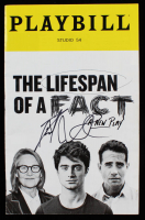 "Daniel Radcliffe Signed ""The Lifespan of a Fact"" Playbill (JSA Hologram) at PristineAuction.com"