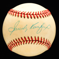 Sandy Koufax Signed ONL Baseball (Beckett LOA) at PristineAuction.com