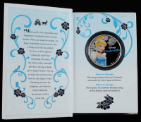 """Walt Disney's 2015 """"Cinderella"""" New Zealand Mint Niue $2 Coin in Booklet at PristineAuction.com"""