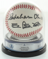 Sadaharu Oh Signed OL Baseball (BGS Encapsulated) at PristineAuction.com