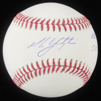 "Mike Yastrzemski Signed Official 2018 World Series Baseball Inscribed ""MLB Debut 5-25-19"" (MLB Hologram) at PristineAuction.com"