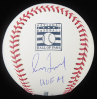 "Greg Maddux Signed OML Hall of Fame Baseball Inscribed ""HOF 14"" (MLB Hologram) at PristineAuction.com"