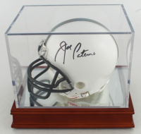 Joe Paterno Signed Penn State Nittany Lions Mini-Helmet with Display Case (PSA LOA) at PristineAuction.com
