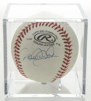 Derek Jeter Signed OL Baseball In Display Case (Beckett LOA) at PristineAuction.com