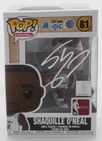 Shaquille O'Neal Signed Magic #81 Funko Pop! Vinyl Figure (Fanatics Hologram) at PristineAuction.com