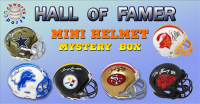 Schwartz Sports Football Hall of Famer Signed Mini Helmet Mystery Box – Series 11 (Limited to 100) at PristineAuction.com
