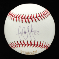CC Sabathia Signed OML Career Stat Engraved Baseball (JSA COA) at PristineAuction.com