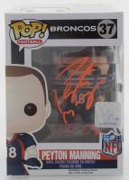 Peyton Manning Signed Broncos #37 Funko Pop! Vinyl Figure (Fanatics Hologram) at PristineAuction.com