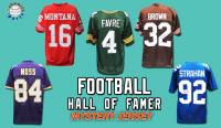 Schwartz Sports Football Hall of Famer Signed Football Jersey Mystery Box - Series 14 (Limited to 100) at PristineAuction.com