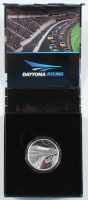 2016 NASCAR Daytona Rising Royal Canadian Mint Commemorative Coin in Case at PristineAuction.com