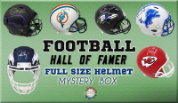 Schwartz Sports Football Hall of Famer Signed Full Size Helmet Mystery Box Series 8 (Limited to 100) at PristineAuction.com