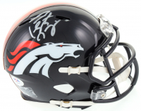 Peyton Manning Signed Broncos Speed Mini-Helmet (PSA COA) at PristineAuction.com