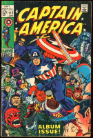 """Vintage 1969 """"Captain America"""" Issue #112 Marvel Comic Book at PristineAuction.com"""