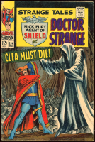 "Vintage 1966 ""Doctor Strange"" Issue #154 Marvel Comic Book at PristineAuction.com"