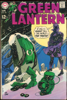 """Vintage 1969 """"Green Lantern"""" Issue #68 DC Comic Book at PristineAuction.com"""