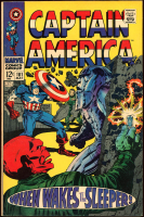 "Vintage 1967 ""Captain America"" Issue #101 Marvel Comic Book at PristineAuction.com"