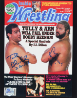 Tully Blanchard & Arn Anderson Signed WWE 8x10 Photo (Pro Player Hologram) at PristineAuction.com