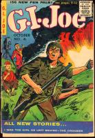 "Vintage 1955 ""G.I. Joe"" Issue #41 Marvel Comic Book at PristineAuction.com"