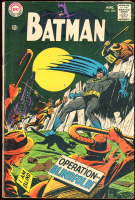 "Vintage 1968 ""Batman"" Issue #204 DC Comic Book at PristineAuction.com"
