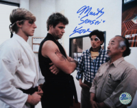"Martin Kove Signed ""The Karate Kid"" 8x10 Photo Inscribed ""Sensei"" (Pro Player Hologram) at PristineAuction.com"
