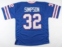 "O. J. Simpson Signed Jersey Inscribed ""NFL MVP 73'""(JSA COA) at PristineAuction.com"