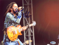"""Julian Marley Signed 8.5x11 Photo Inscribed """"One Love"""" (Beckett COA) at PristineAuction.com"""