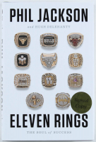 """Phil Jackson Signed """"Eleven Rings: The Soul of Success"""" Hardcover Book (JSA COA) at PristineAuction.com"""