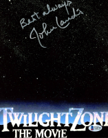 "John Landis Signed ""The Twilight Zone"" 8x10 Photo Inscribed ""Best Always"" (Beckett COA) at PristineAuction.com"