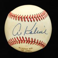 Al Kaline Signed OAL Career Stat Engraved Baseball (JSA COA) at PristineAuction.com