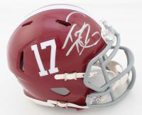 Tua Tagovailoa Signed Alabama Crimson Tide Speed Mini Helmet (Beckett COA) at PristineAuction.com
