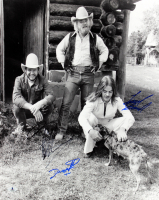 "Frank Beard, Dusty Hill & Billy Gibbons Signed ""ZZ Top"" 16x20 Photo (Beckett LOA) at PristineAuction.com"