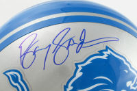 Barry Sanders Signed Lions Full-Size Authentic On-Field Helmet (Schwartz Sports Hologram) at PristineAuction.com