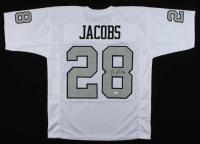 Josh Jacobs Signed Jersey (JSA COA) at PristineAuction.com