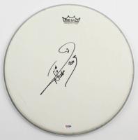 "Nicko McBrain Signed 10.5"" Drum Head Inscribed ""2013"" (PSA COA) at PristineAuction.com"