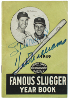 """Stan Musial & Ted Williams Signed """"Famous Slugger Yearbook"""" (JSA ALOA) at PristineAuction.com"""